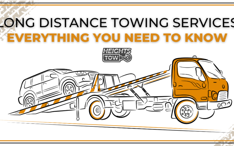 Everything You Need To Know When Looking For Long Distance Towing Services