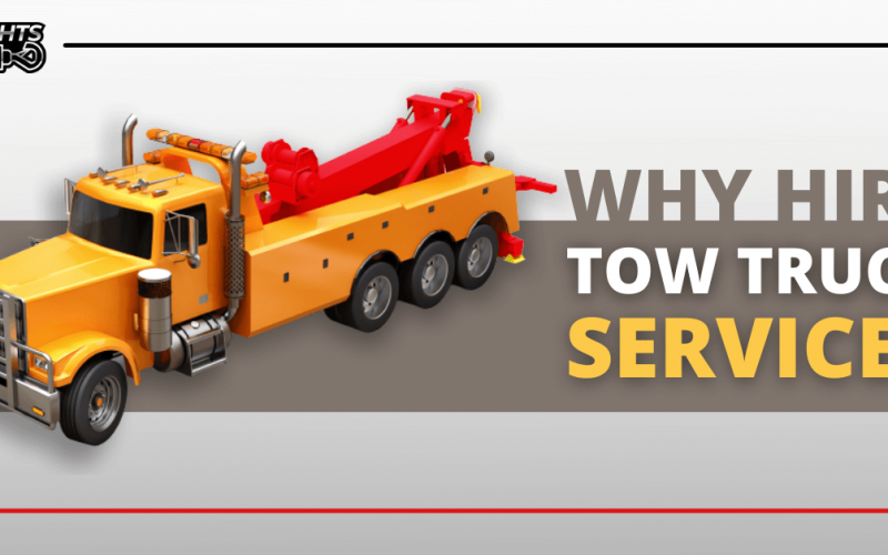 Why You Should Hire a Tow Truck Service